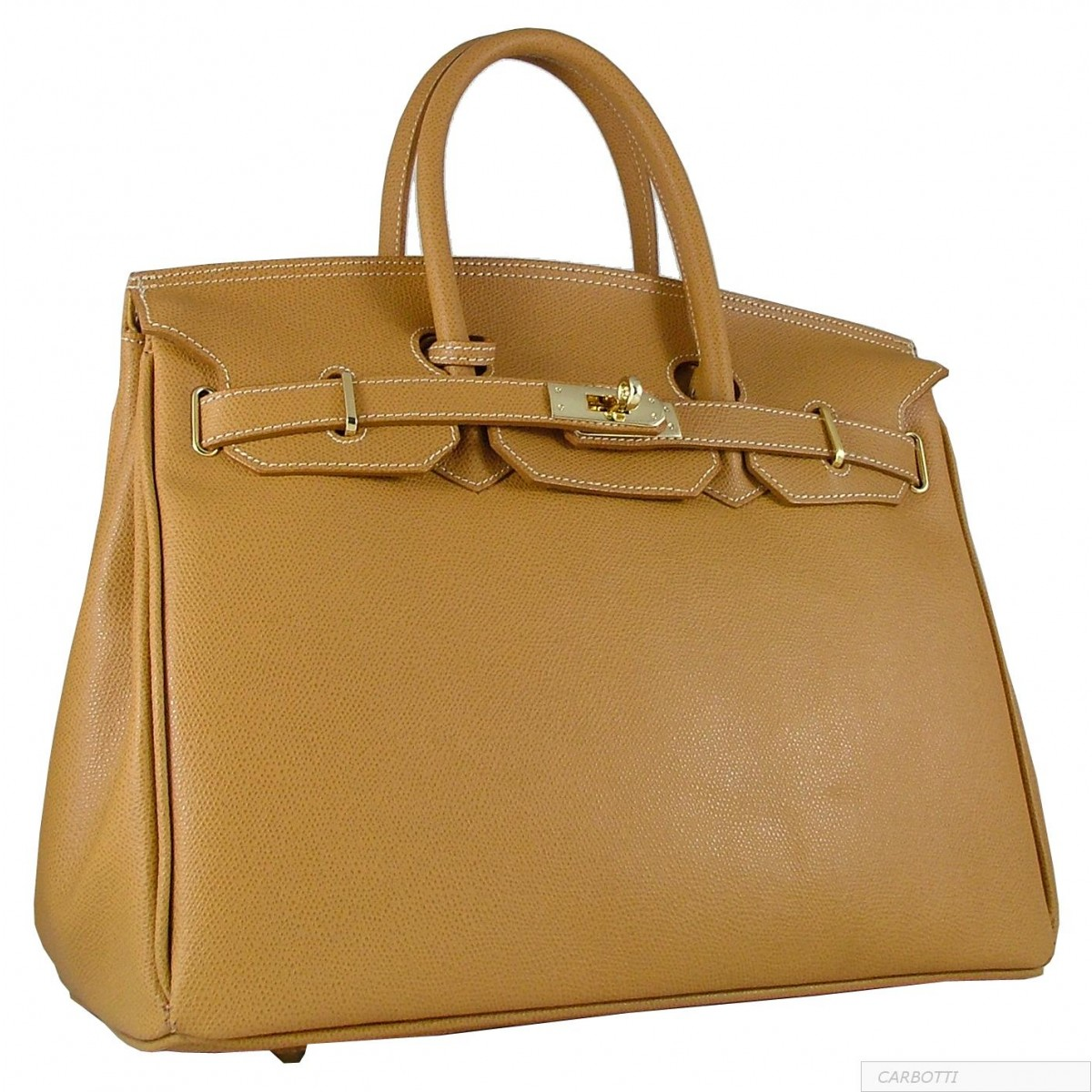 Carbotti - 'Palmellato' calfskin leather - Totes